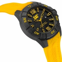 CAT Karbon Yellow watch