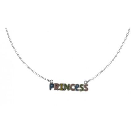 "925 Silver  Necklace ""PRINCESS""."