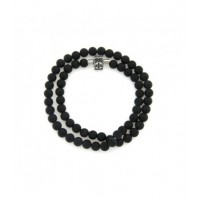 Stainless steel Men's bracelet with stones