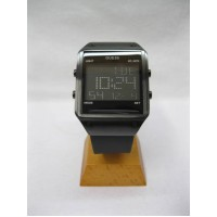 GUESS Men's Trend Digital Black Silicon Strap Watch