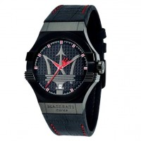 MASERATI Potenza Black Dial Men's Watch