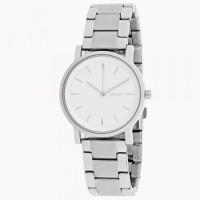 DKNY SoHo white dial Silver-tone Ladies Watch