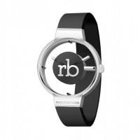 RoccoBarocco Women's Watch Twirl Black
