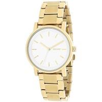 DKNY SoHo White Dial Gold-tone Ladies Watch